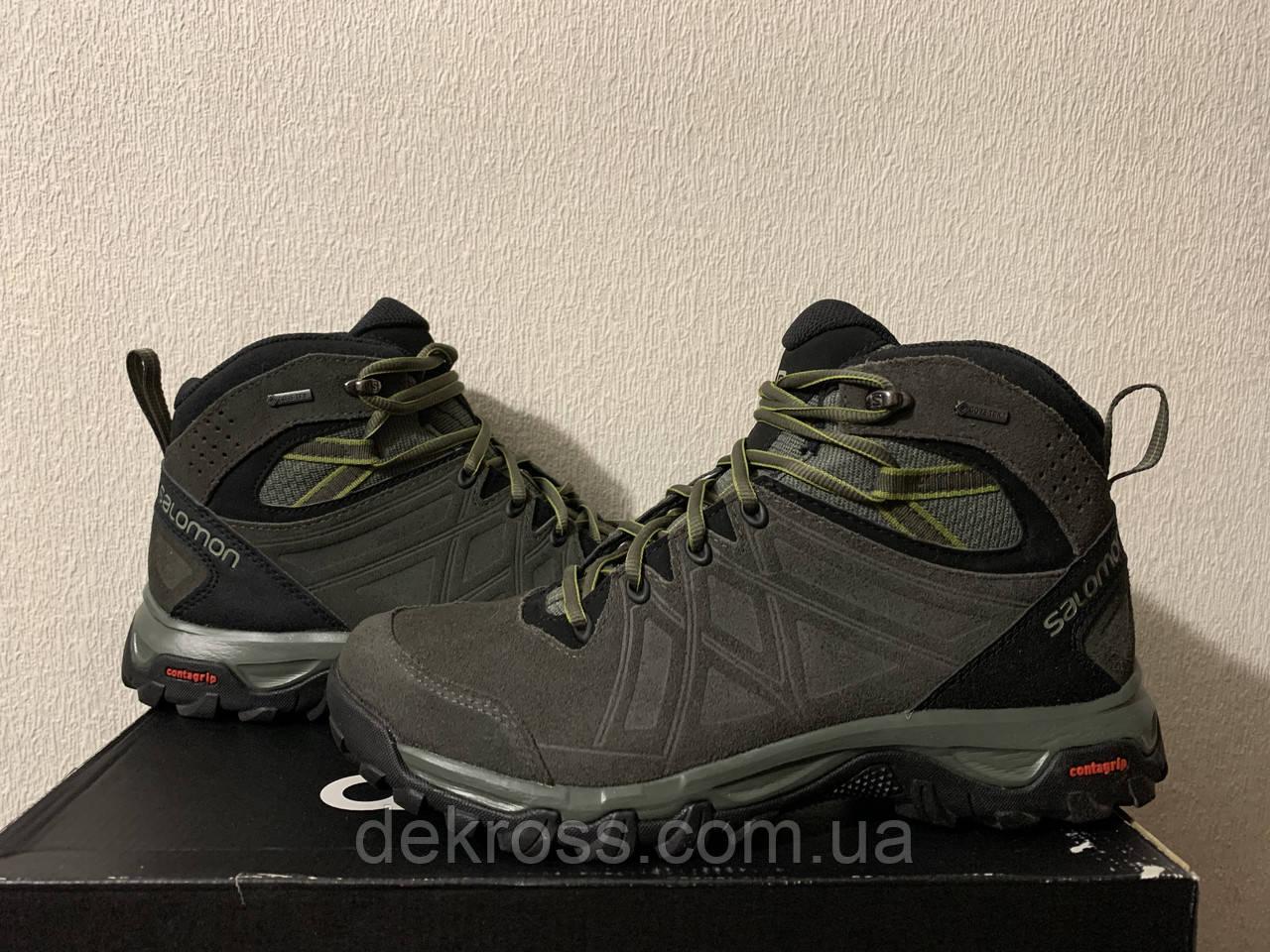 Ботинки Salomon Evasion 2 Mid Ltr Gtx Castor Gra Оригинал 400019