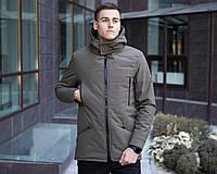 Куртка парка зимняя мужская CS 1.6 хаки