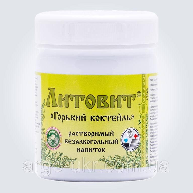 Литовит-напиток Горький Арго пищеварение, гастрит, усталость, метеоризм, дисбактериоз, дистония, интоксикация