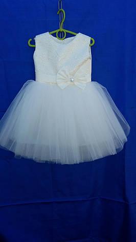 Платье нарядное для девочки евро сетка  р. 2-3 лет опт, фото 2