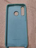 Накладка Silicone Case Original для Huawei P 30 Lite (м'ятний), фото 2