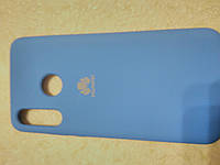 Накладка   Silicone Case  Original   для  Huawei P 30 Lite  (голубой), фото 1