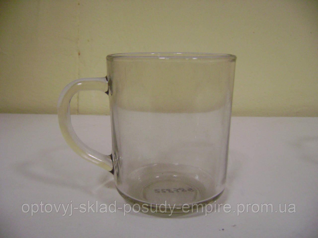 Кружка стеклянная Green Tea 250мл Прозрачная