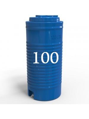 Емкость пластиковая двухслойная вертикальная узкая 100 литров.