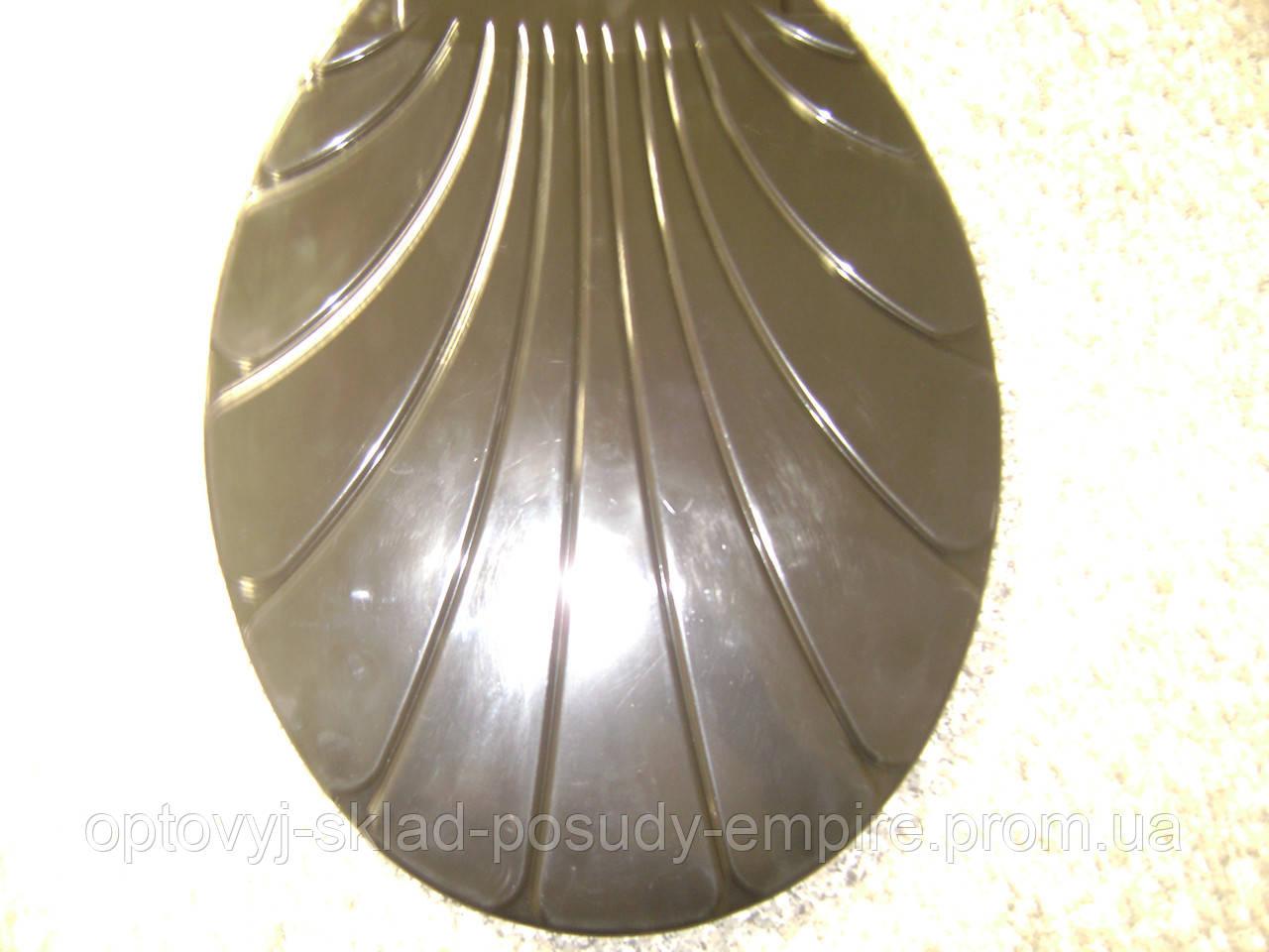 Кришка Сидіння для унітазу ракушка пластик/20049-1