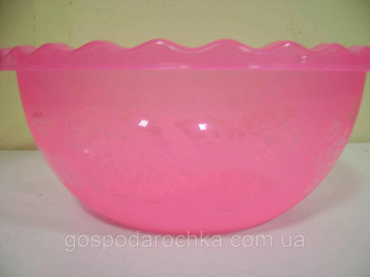 Таз для фруктов пластиковый, 9 л. микс цветов 350*3350*146 мм.  АП -105413