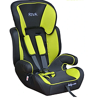 Автокресло RIVA 9-36 кг желтое