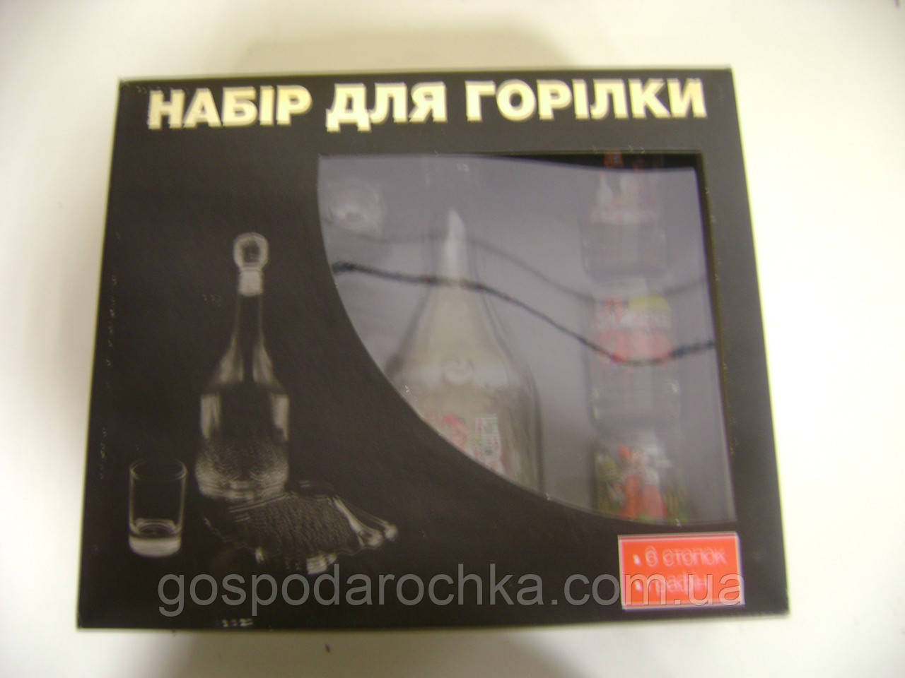 Набір для горілки Українська тема 02с1021