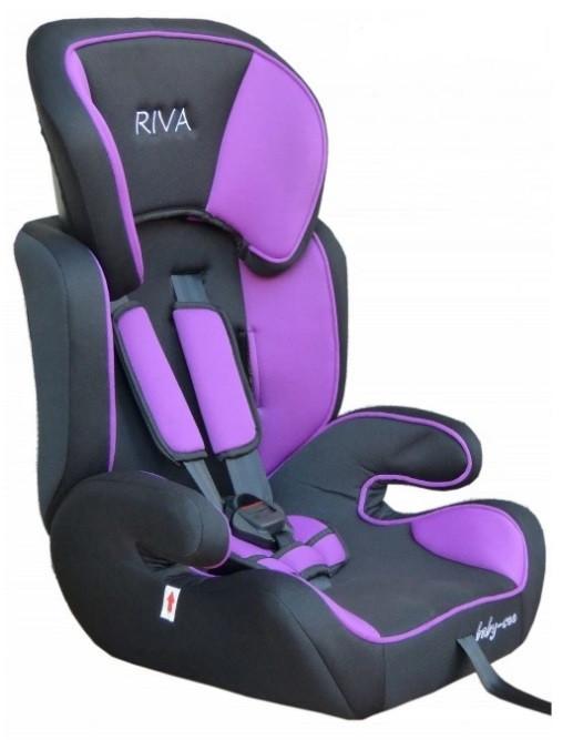 Автокресло RIVA 9-36 кг фиолетовое