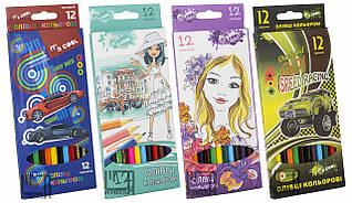 Набор цветных карандашей Its,Cool,12 цветов шестигранные 215/12 BL