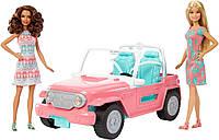Джип Барбі з двома ляльками машина Barbie Jeep with Two Dolls, фото 1