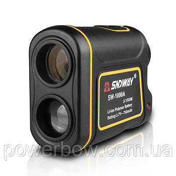 Далекомір лазерний ПРО + вимірювач швидкості SNDWAY SW-1000A 1000м