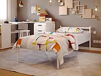 Односпальная кровать металлическая для хостелов, гостиниц, пансионатов КОМФОРТ (COMFORT)  ТМ Метакам 90х200