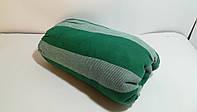 Простыни полуторка на резинке 140*200 Зеленая полоса