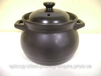 Кастрюля Interos керамическая Black 1,6 л