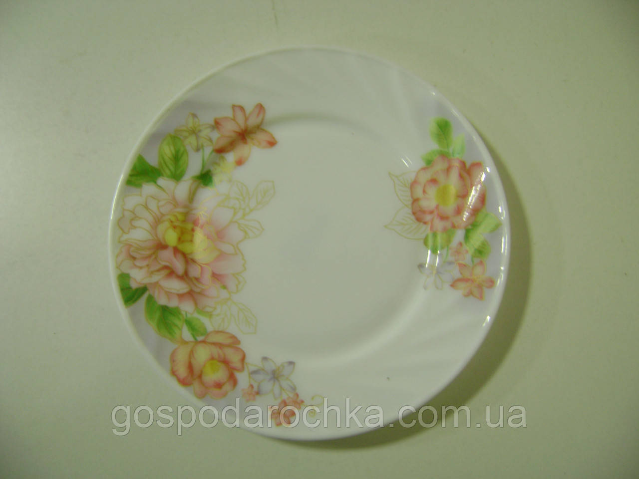 "Тарелка 7* мелкая  ""Жоржина"" НР-70 6875"