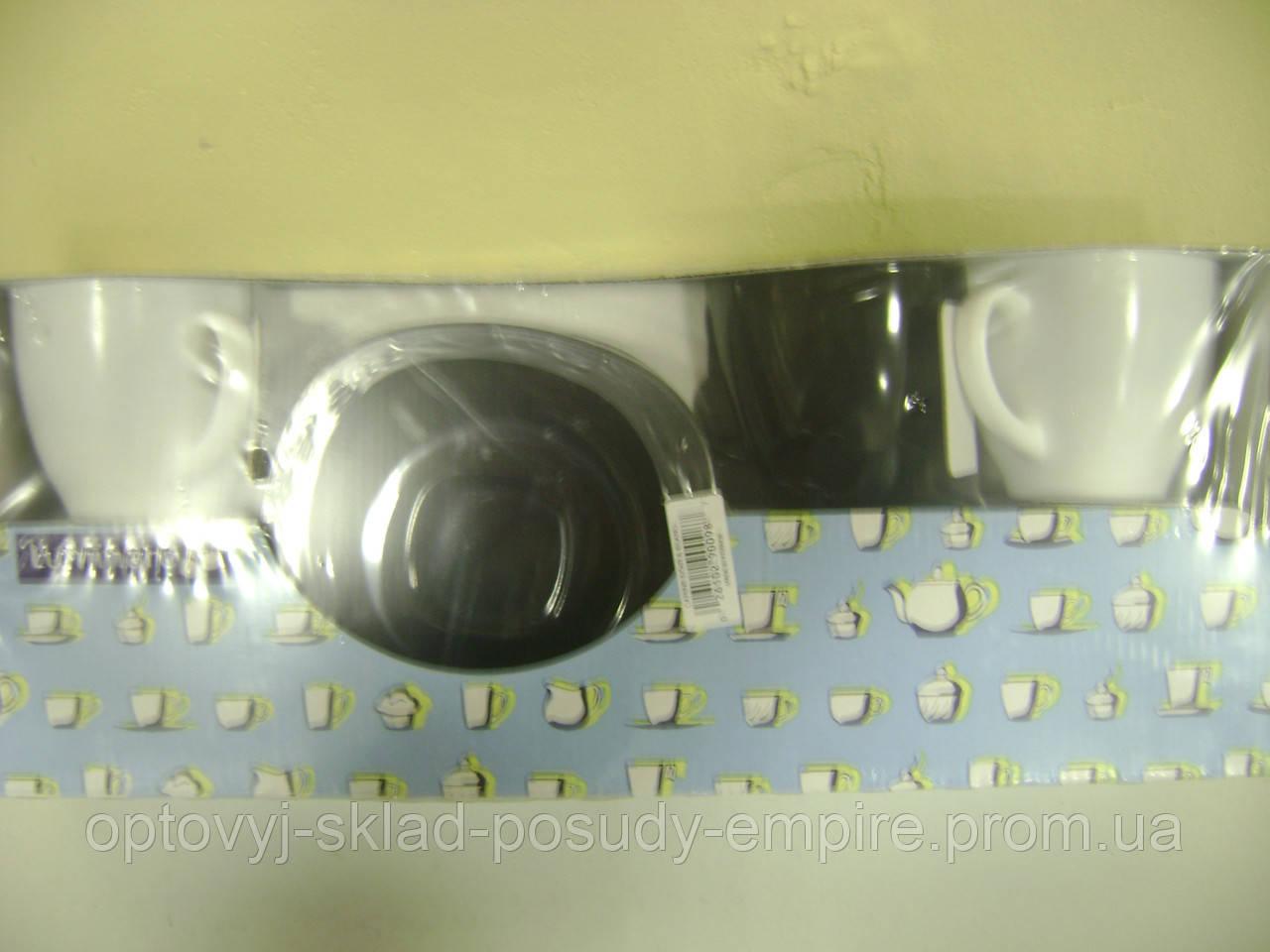 Чайний сервіз Luminarc CARINE White&Black 6х220 мл
