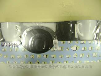 Чайный сервиз Luminarc CARINE White&Black 6х220 мл