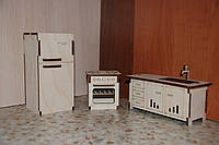 "Лялькові меблі ""Кухня"""