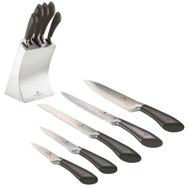 Набор ножей Berlinger Haus Carbon Metallic Line 6 предметов BH-2136