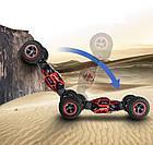 Машинка трансформер на радіокеруванні, LEOPARD KING No.1, Hyper Actives Stunt,червона, фото 8