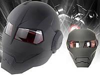Мотоциклетный шлем Soman Размер M Черный