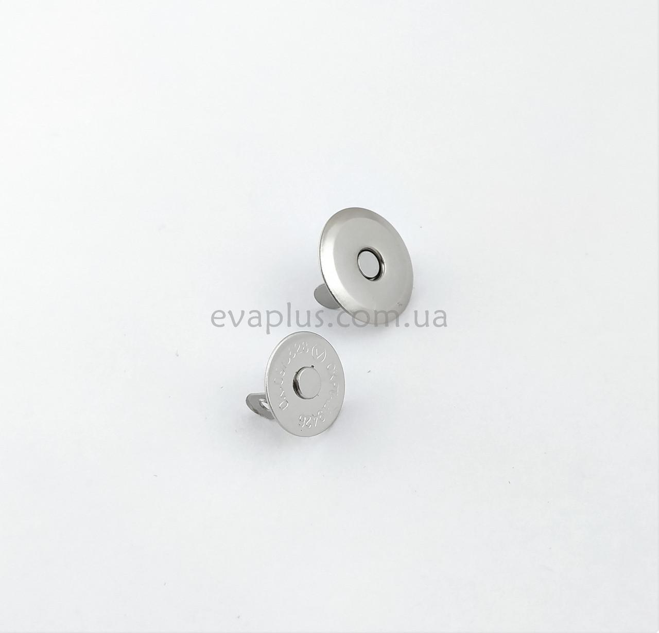 Магнитная кнопка для сумки Т5109 никель