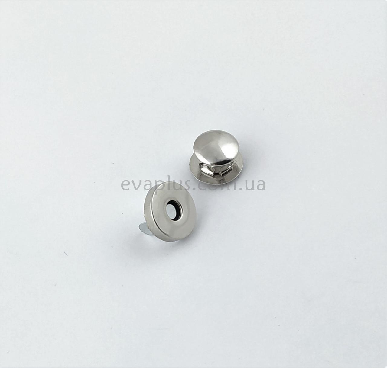 Магнитная кнопка для сумки Т5111 никель