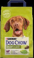 Purina Dog Chow Adult ягненок для собак 14 кг