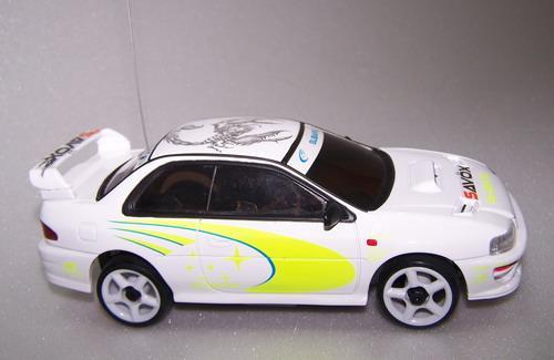 Автомодель на радиоуправлении 1:28  2WD   Subaru  RTF   27Mhz  ( белый)
