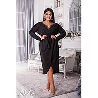 Вечернее платье с глубоким декольте больших размеров от 50 до 56 р.