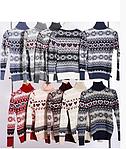Праздничный свитер плотная вязка, фото 4