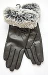 Женские кожаные перчатки