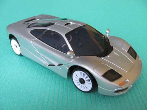 Автомодель на радиоуправлении 1:28  2WD   McLaren  RTF   27Mhz  ( металлик )