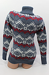 Зимний свитер для женщин со снежинками, фото 4