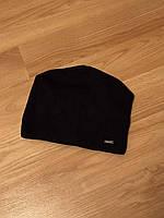 Мужская зимняя шапка,черная шапка с заклепкой