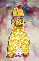 Детский карнавальный костюм Цыпленок велюр