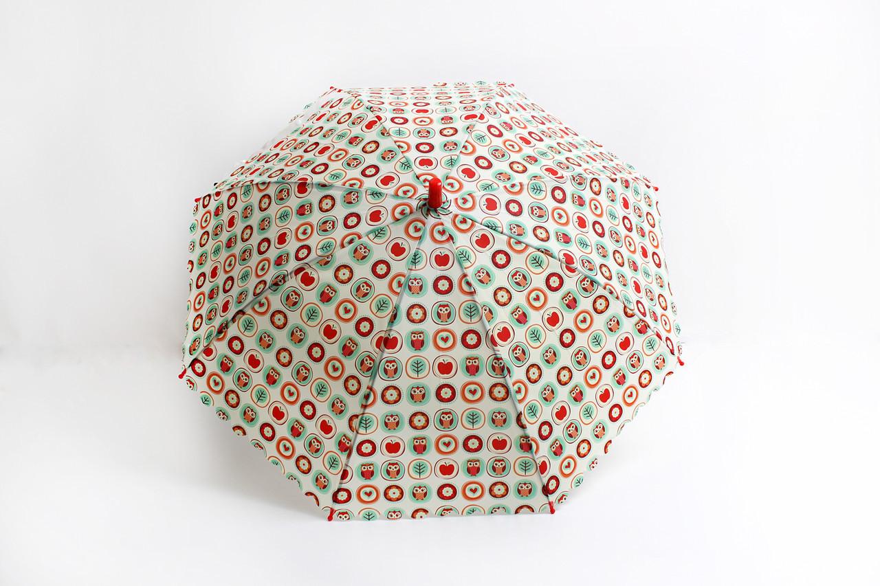 Детские зонты FAMO Зонт детский Принцесса молочный Диаметр купола 114.0(см)/ Длина спицы 47.0(см)/ Длина в сложенном виде 66.0(см) (RST037) #L/A
