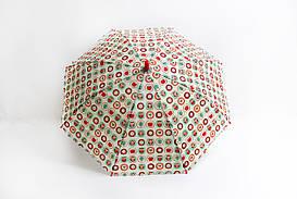 Дитячі парасолі FAMO Парасолька дитячий Принцеса молочний Діаметр купола 114.0(см)/ Довжина спиці 47.0(см)/ Довжина в складеному вигляді 66.0(см) (RST037) #L/A