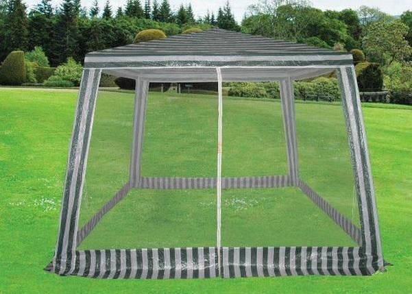Павильон садовой 3х3 м. москитная сетка,4 стены, фото 2