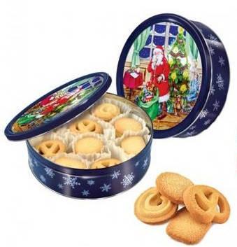 Печенье ассорти Only  Butter Cookies  ж/б банка 454 г, фото 2