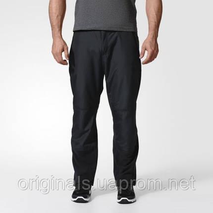 Брюки для активного отдыха adidas Windfleece мужские A98519 черные, фото 2
