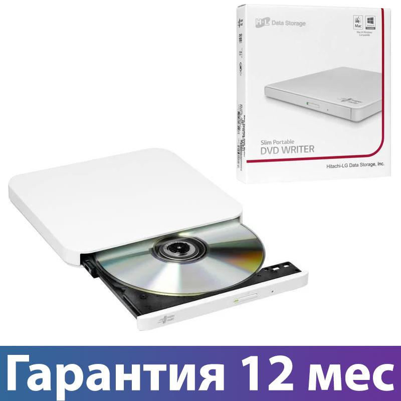 Внешний дисковод для ноутбука LG GP90NW70, White, DVD+/-RW, USB 2.0, переносной оптический привод