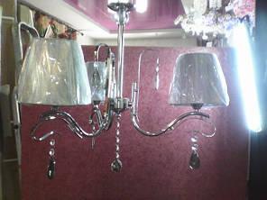Люстра, 3 лампы, подвесная, фото 2
