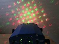 Лазерный проектор от сети (елки, снежинки, звезды), фото 1