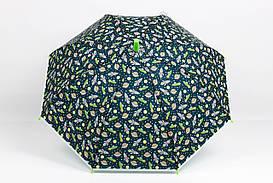Дитячі парасолі FAMO Парасолька дитячий Совушки індиго Діаметр купола 116.0(см)/ Довжина спиці 48.0(см)/ Довжина в складеному вигляді 66.0(см) (RST071) #L/A
