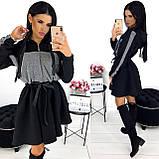 Платье женское чёрное, белое, бежевое, хаки, фото 2