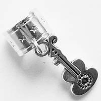 """Кольцо обманка """"Гитара"""" для имитации пирсинга ушей., фото 1"""