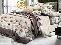 Двухспальный постельный комплект Укроп