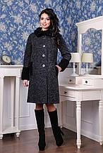 Стильное женское пальто 44-54р